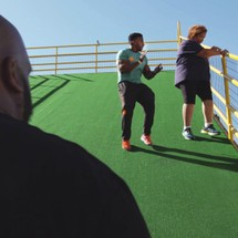 Pastor John Gray, Stephanie and personal trainer on 'The Book of John Gray'